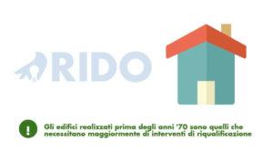 ridurre i consumi energetici a casa - riqualificare gli edifici