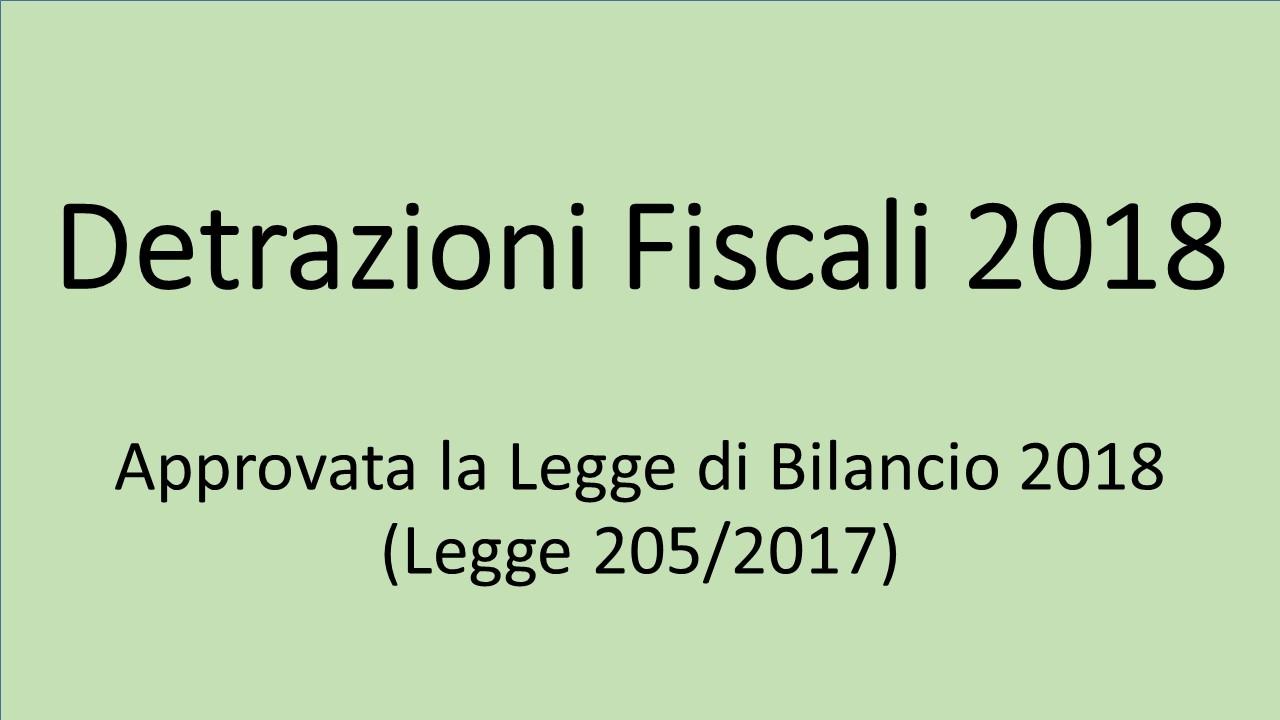 Detrazioni Fiscali 2018 Per La Riqualificazione Energetica