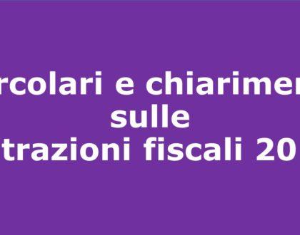 Circolari e chiarimenti sulle detrazioni fiscali 2018