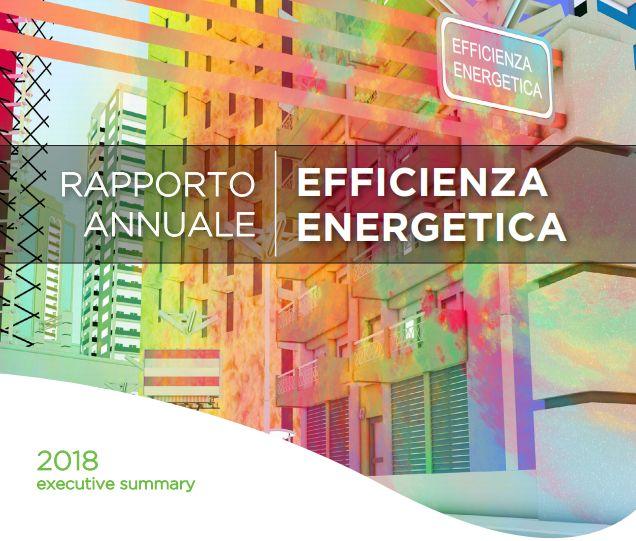 Rapporto annuale sull'efficienza energetica 2018