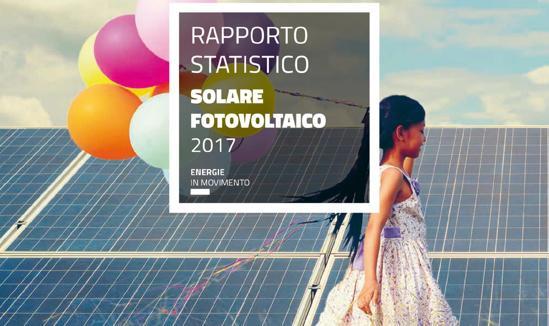 Rapporto statistico sul fotovoltaico 2017